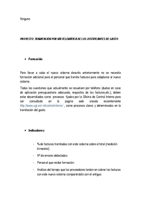 Gerencia > justificantes | Universidad de Granada